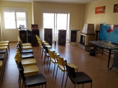 Nuestra sala de conferencias