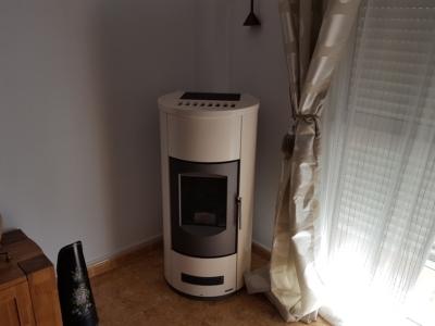 Instalación estufa P158T Blanca en Pinoso
