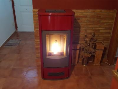 Estufa pellet Piazzetta P163 Rubino